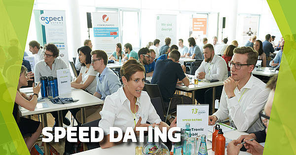 Speed dating between students and high tech companies