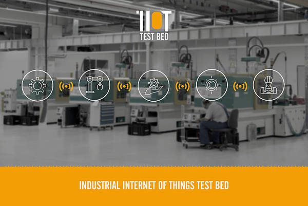Industrial Internet of Things Test Bed (Source: HTW Dresden)