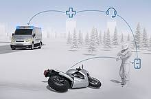 Bosch: Faster emergency assistance - Automatic emergency calls for motorcycles