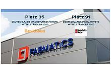 Fabmatics: Top 100 most innovative and fastest growing medium-sized German companies in 2020
