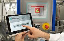 Fraunhofer: Self-learning assistance system for efficient processes