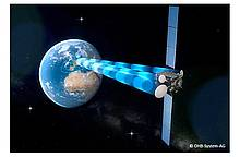 First Sensor: Antenna for German Communication Satellite