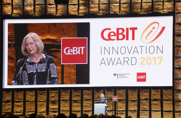 BMBF: CeBIT Innovation Award 2017 verliehen