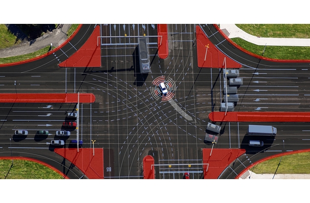 Bosch: How cars and infrastructure work together in urban automated driving