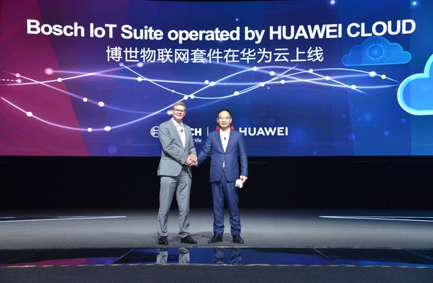 Bosch launches IoT software solutions on Huawei Cloud