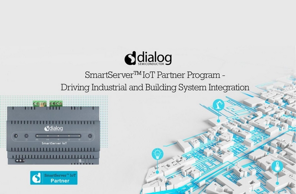 Dialog Semiconductor: SmartServer™ IoT Partner Ecosystem for Edge Solutions in Smart Buildings and Factories