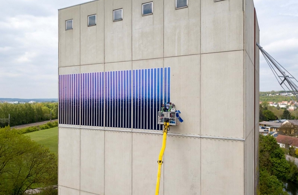 Heliatek: Solar refresh for an industrial façade
