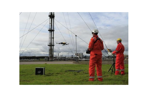 Intel: Intel and Cyberhawk Inspect Gas Terminal through Lens of Commercial Drone Technology