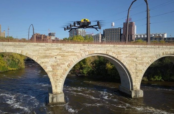 Intel: Drone Solutions Modernize and Increase Efficiency for US Bridge Inspections