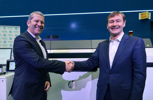 Siemens: HP and Siemens Deepen Additive Manufacturing Alliance to Advance Digital Manufacturing