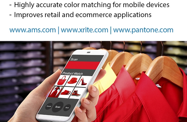 ams: ams, X-Rite and PANTONE® to develop a mobile color sensing solution