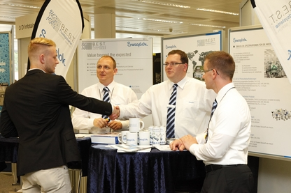 Exhibitors at Silicon Saxony Day 2013